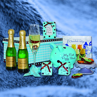 Babys First Hamper (Baby Boy) image